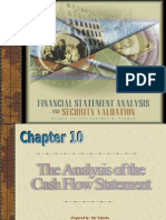 The analylis of the Cash Flow Statement
