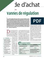 805 GA Vanne Regulation