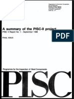 A summary of the PISC II project