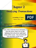 Accounting, Warren 21st Edition