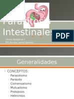 Parasitosis Intestinales en Pediatria