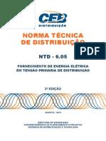 Ntd 6.05 - Fornecimento de Energia Eletrica Em Tensao Primaria de Distribuicao-2a Edicao