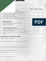 rubric - english i essay personal narrative