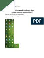 SAP GUI720 Installation & Logon to BEX Analyzer