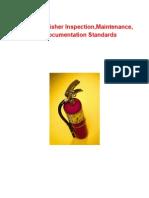 Safety Documentation Fire Extinguishers