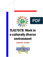 TLIG707B - Work in a Culturally Diverse Environment - Learner Guide