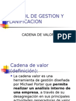 Analisis Interno (Cadena de Valor)