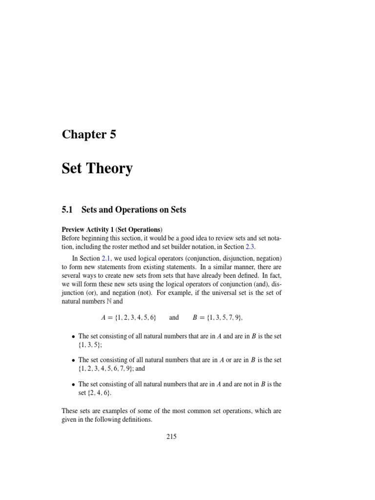 7 ch 5 set theory set mathematics mathematical proof biocorpaavc Image collections