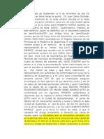 Acta Proceso Sucesorio Intestado, derecho notarial