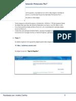 Manual de Descarga Primavera P6 v7