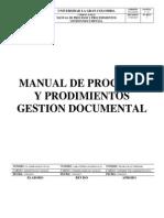 Manual Procesos Gestion Documental