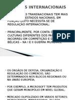 Aula 12 - Negocios Internacionais -Regulação Internacional