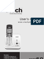 User's Manual Vtech CS6219