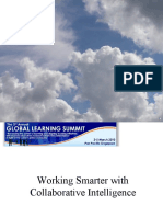 Working Smarter with Collaborative Intelligence