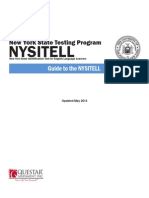 Guide to NysItell