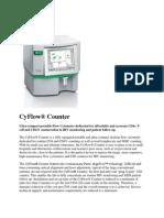 Partec Cyflow Counter