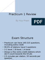 Practicum 1 Review