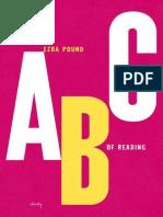 Pound, Ezra - ABC of Reading (New Directions, 2010)