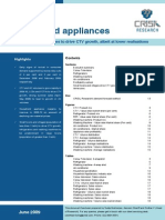 Executive Summary-Household Appliances