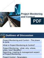 Project Monitoring&Control - Introduction