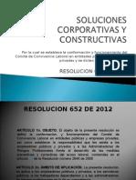 Resolucion 652 de 2012