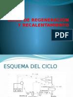 Ciclo de Regeneracion y Recalentamiento