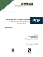 Le Senegal face à la crise energetique mondiale