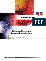 Advanced Distance Automation Interface