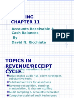 Accounts Receivable-Aud Theory