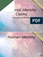 Bio1 Forensic Claims