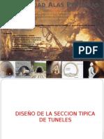 Secciones Tipicas de Tuneleria y Dise..