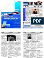 "Kuta Weekly-Edition 171 ""Bali""s Premier Weekly Newspaper"""