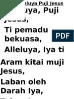 64 Alleluyah Puji Jesus