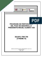 Programa de Perforación Pma 1426