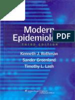 Livro 131 Modern Epidemiology