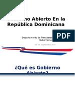 Presentacion Gobierno Abierto RD