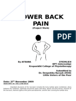 23281523 Lower Back Pain