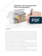How Baby Boomers can Leverage Real Estate Crowdfunding