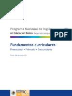 curricular foundations