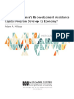 Does Pennsylvania's Redevelopment Assistance Capital Program Develop Its Economy?