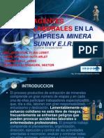 Agentes Laborales en La Empresa Minera Sunny e