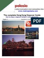 Hong Kong Stopover