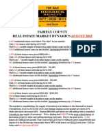 Fairfax County Real Estate Market Stats