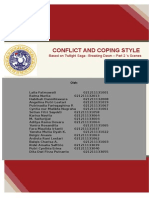 Conflict and Coping Styles