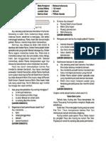 Try Out Detik-Detik US-M SD 2014 - Bahasa Indonesia Paket 01