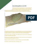 Delimitar Una Cuenca Hidrográfica en ArcGIS