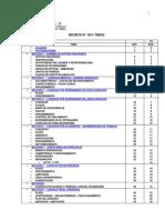 Decreto Nº 1919 - Regimen de Licencias, Justificaciones y Franquicias