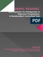 saraf Journal Reading
