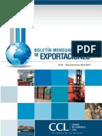 Exportaciones Abril