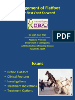 Management of Flatfoot